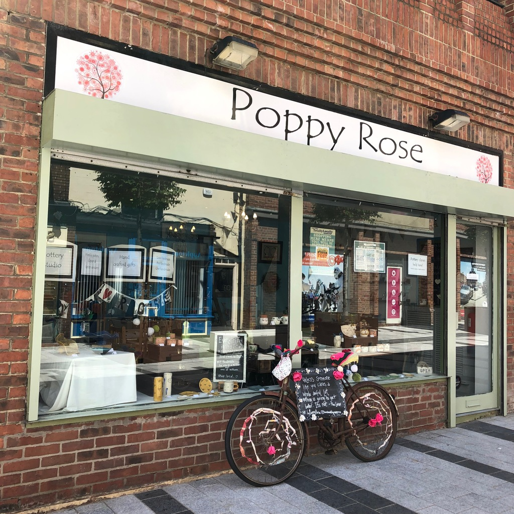 Poppy Rose Pottery Studio & Handcrafted Gifts